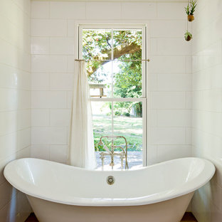 Small freestanding bathtubs Next Inspiration For Country Freestanding Bathtub Remodel In Portland Houzz Small Freestanding Tub Houzz