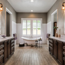 Traditional Bathroom by Carson's Cabinetry & Design