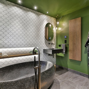 Titirangi Green Bathroom