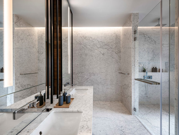 Contemporary Bathroom by Ming Architects