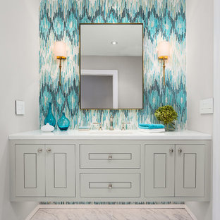 Contact Paper Bathroom Ideas | Houzz