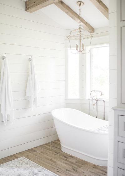 Farmhouse Bathroom By Southern Designs LLC