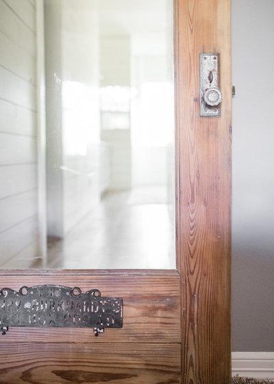 Farmhouse Bathroom by Moore House Interiors, LLC