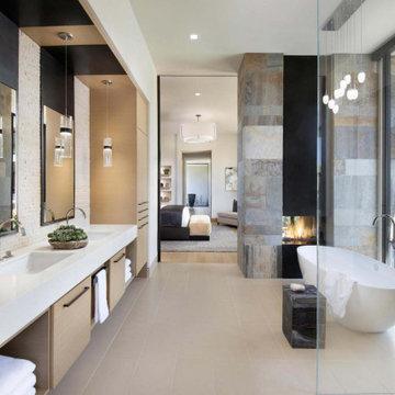 Tonal Harmony Master Bathroom