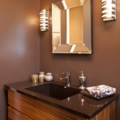 contemporary bathroom by John Kraemer & Sons