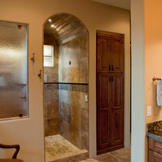 Mediterranean Bathroom by Rains Design