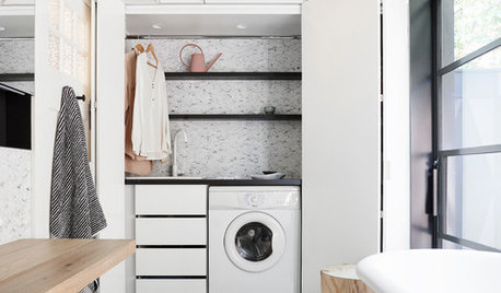 Genius Ways to Create a Laundry Zone in Your Home