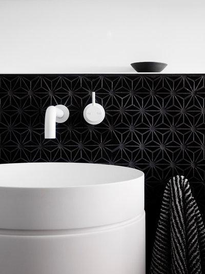 Contemporary Badrum by NORTHBOURNE Architecture + Design