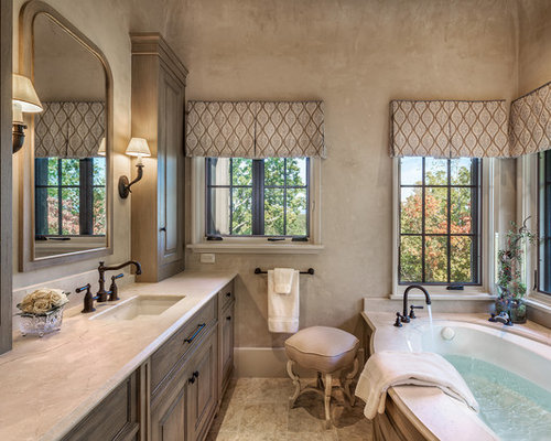 Mediterranean Bathroom Design Ideas, Remodels & Photos