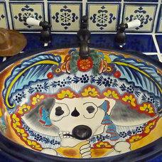 Mediterranean Bathroom by Moore About... Design