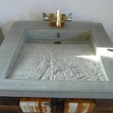 Modern Bathroom by Future Form Designs
