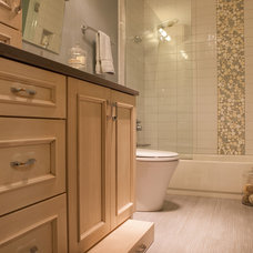 contemporary bathroom by Rebecca Ryan Design
