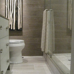 modern bathroom by Lisa Ferguson Interior Design