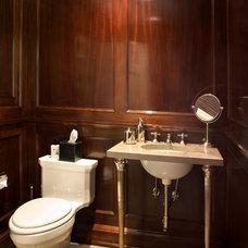 Traditional Bathroom by Heintzman Sanborn Architecture~Interior Design