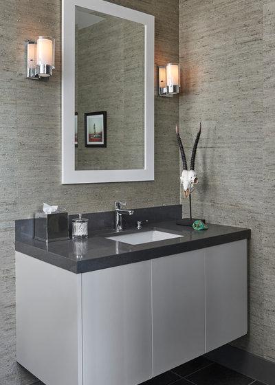 Modern Bathroom by KMSalter Design