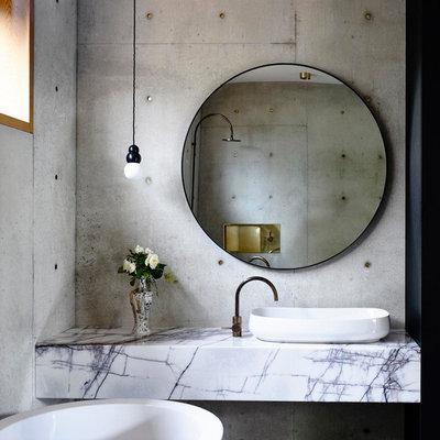 Minimalistisch Badezimmer by Auhaus Architecture