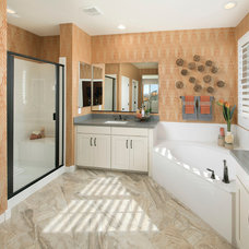Transitional Bathroom by Meritage Homes
