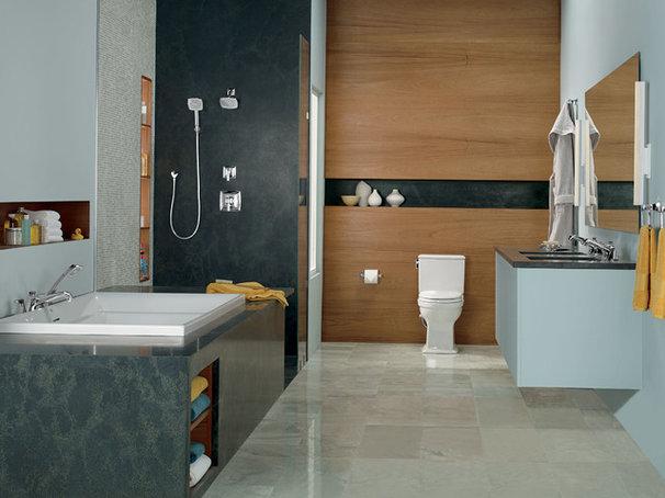 Contemporary Bathroom by TOTO