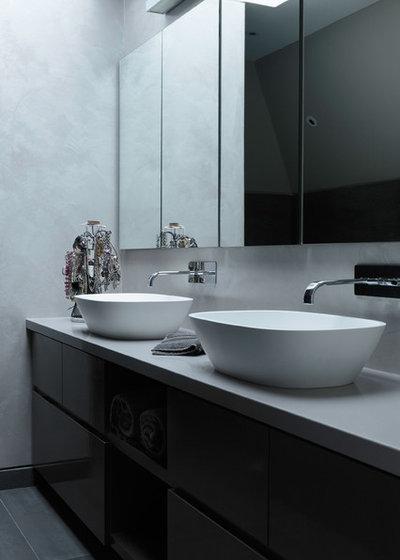 Contemporary Bathroom by Staffan Tollgard Design Group