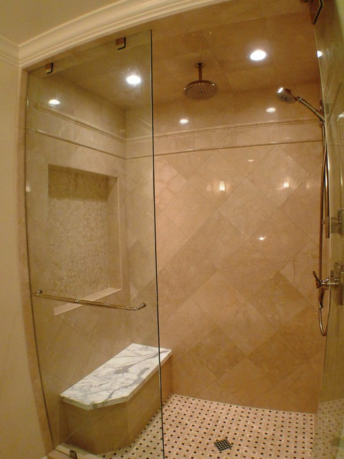 Crema Marfil Tile Ideas Pictures Remodel And Decor