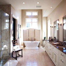 Traditional Bathroom by Toulmin Homes