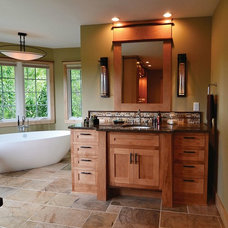 Craftsman Bathroom by Remodelers Council of Greater DSM