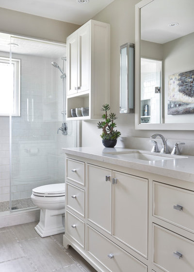American Traditional Bathroom by Laura Hay DECOR & DESIGN Inc.
