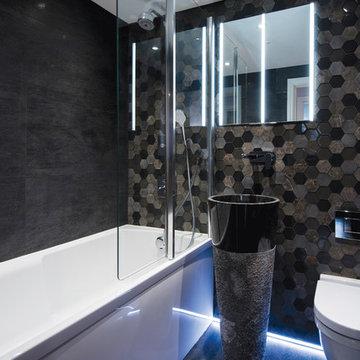 Town Apartment Bathroomd