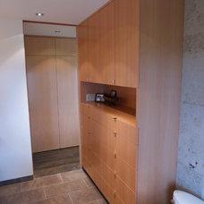 Modern Bathroom by Near West Cabinets