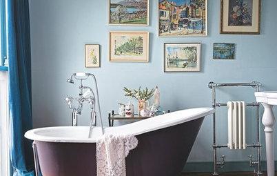 Konst i kök och bad: Glöm inte bort att tavlorna hänger bra i alla rum