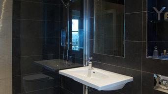 Town house in Bath. Design by Clair Strong Interior Design Ltd