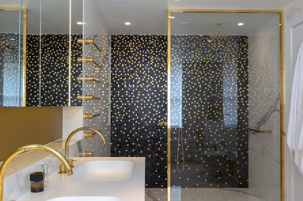 Eclectic Bathroom by Clifton Interiors Ltd