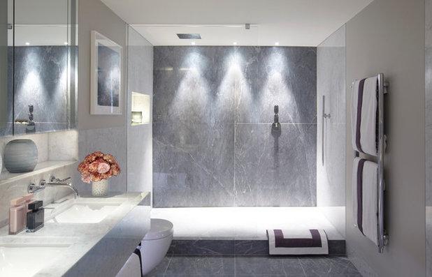 Contemporary Bathroom by Helen Green Design