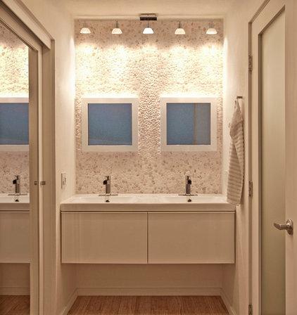 Contemporary Bathroom by Jon+Aud Design