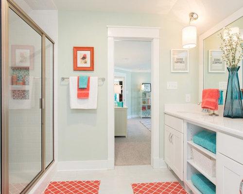 436 coral and blue Bathroom Design Photos. Best Coral And Blue Bathroom Design Ideas   Remodel Pictures   Houzz