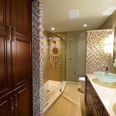 Contemporary Bathroom by B. Dunn Interiors, Inc.