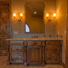 Eclectic Bathroom by White Construction Company
