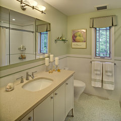 contemporary bathroom by Tracey Stephens Interior Design Inc