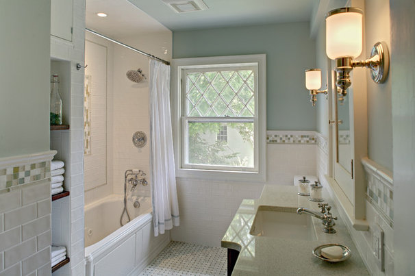 Traditional Bathroom by Tracey Stephens Interior Design Inc