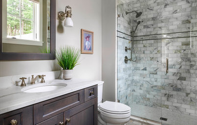 New This Week: 5 Bathrooms With a Curbless or Low-Curb Shower
