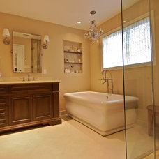 Traditional Bathroom by Tracy Paulsen Interiors