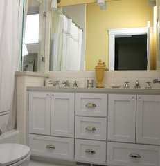 traditional bathroom by Fiorella Design