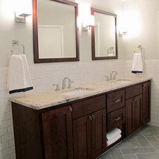 Traditional Bathroom by EcoSafe Spaces, LLC