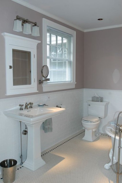 Traditional Bathroom by Haleigh Stallworth