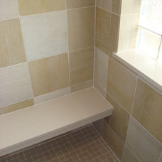 Traditional Bathroom by Straight A Builders, Inc.
