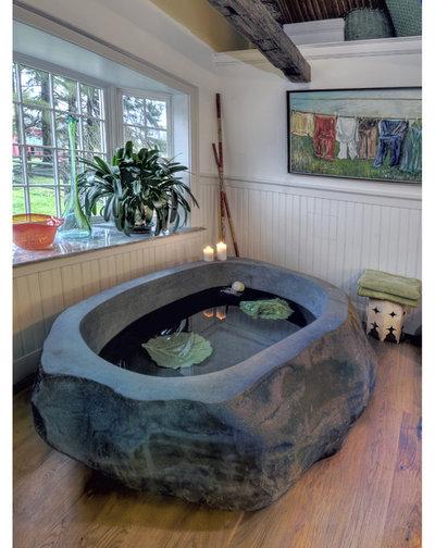 Классический Ванная комната Traditional Bathroom