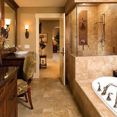traditional bathroom by Affinity Kitchens