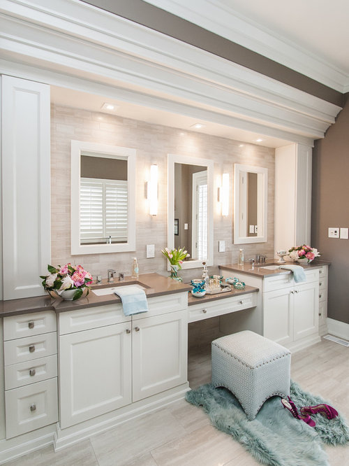 Traditional bathroom design ideas remodels photos Bathroom design ideas houzz
