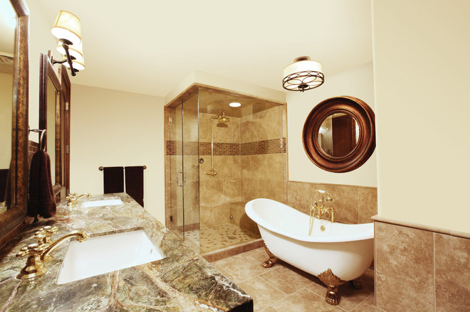 Traditional Bathroom by Alder and Tweed
