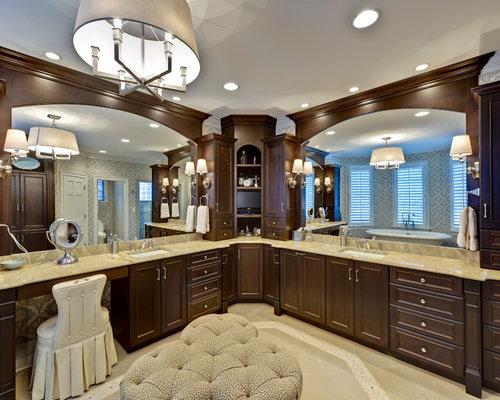 Best Vanity Corner Cabinets Design Ideas Amp Remodel Pictures Houzz